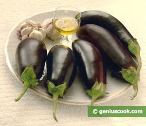 салат из баклажан