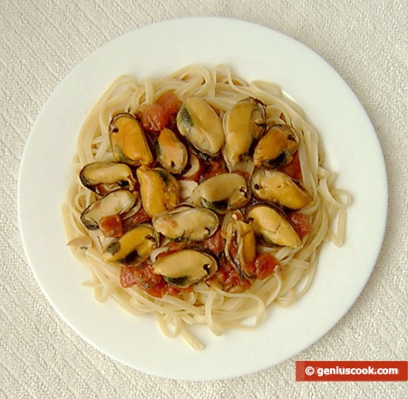 Ready Pasta with Mussels