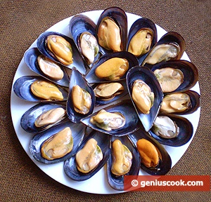 Ingredients for Baked Mussels