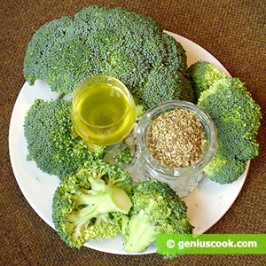 Ingredients for Boiled Broccoli