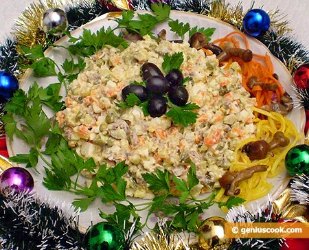 Winter Russian Salad Olivier