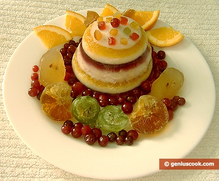 Fruit Milk Jelly