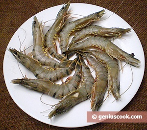 Ingredients for Grilled Tiger Shrimp