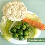 Ingredients for Pickled Vegetable Appetizer