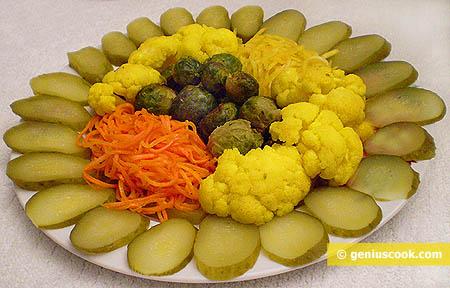 Pickled Vegetable Appetizer