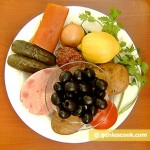 Ingredients for Meat Solyanka
