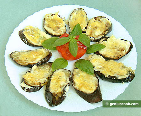 Eggplant Baked with Cheese