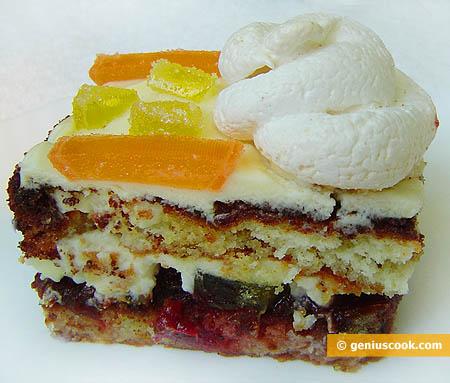 Piece of Marmalade Cake