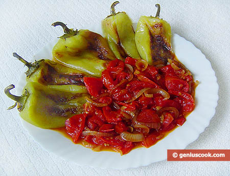 Sweet Peppers in Tomato Sauce