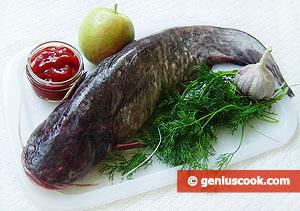 Ingredients for Baked Sheatfish