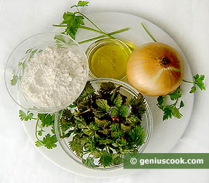 Ingredients for Nettle Sauce