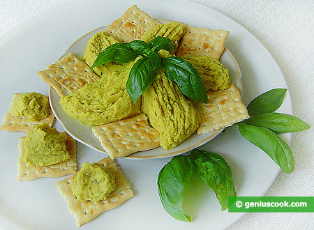 Chickpea with Basil