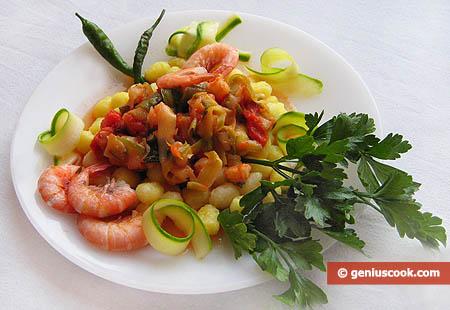 Gnocchetti with Shrimp