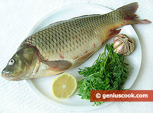 Ingredients for Baked Carp