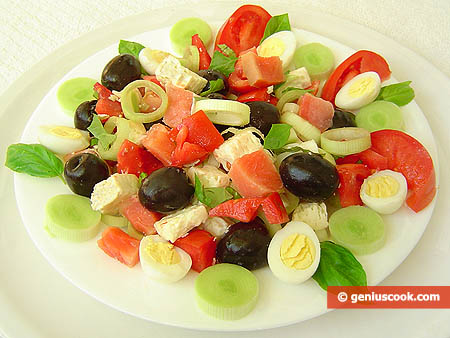 Trout Salad with Olives