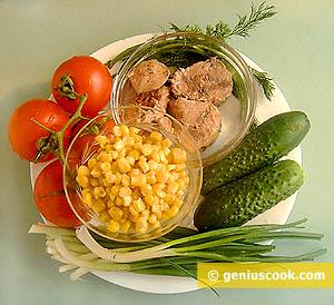 Ingredients for Tuna Sala
