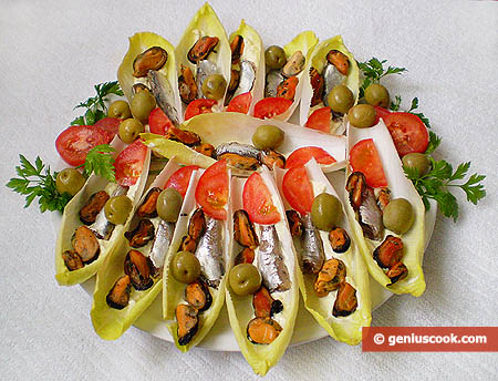Belgian Endive Appetizer