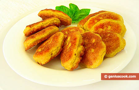 Pumpkin Fluffy Pancakes with Cheese