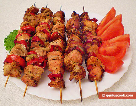 Authentic russian shashlik recipe