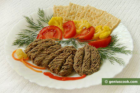 Chicken Liver Paste with Capers