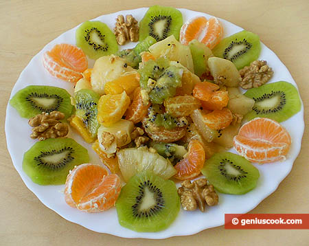 Fruit Mix with Walnut