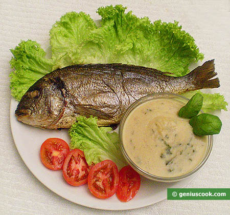 Gilthead Seabream with Salvia Sauce