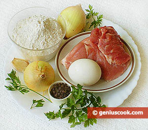 Ingredients for Dumplings