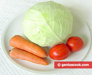 Ingredients for Cabbage Salad