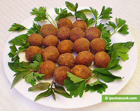 Fried Mozzarella Balls | Italian Food Recipes | Genius cook - Healthy ...