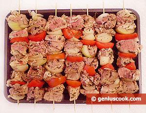 Ingredients for Pork Shashlik