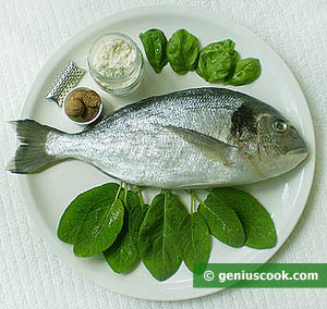 Ingredients for Gilthead Seabream with Salvia Sauce