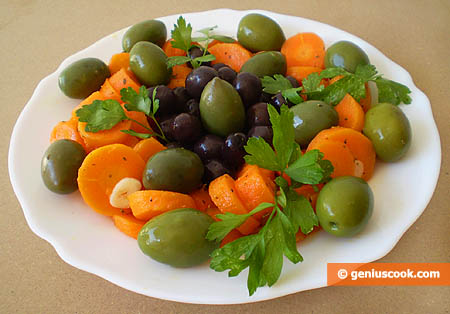 Carrot and Olive Salad