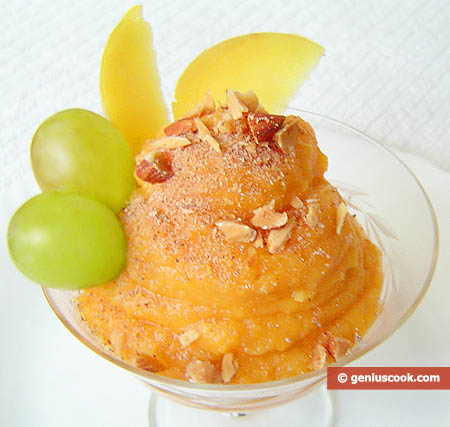 Dessert with Pumpkin and Quince
