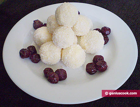 Homemade Raffaello Candies