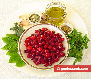 Ingredients for Cranberry Sauce