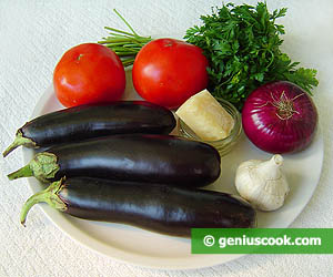 Ingredients for Eggplants with Parmesan