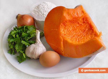 Ingredients for Pumpkin Ravioli