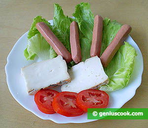 Ingredients for Sausages with Taleggio Cheese