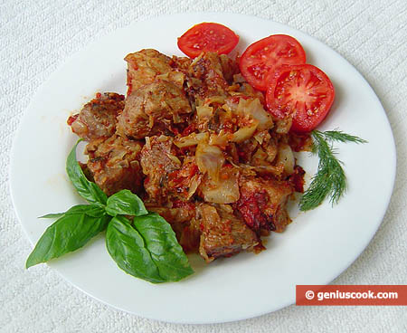 Pork and Cabbage Stew