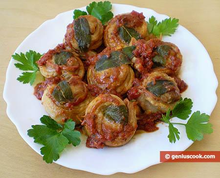 Saltimbocca in Pizzaiolla Sauce
