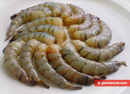 Tiger Shrimp Flesh