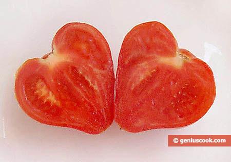 Heart-Shaped Tomato