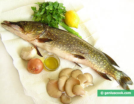 Ingredients for Stuffed Pike