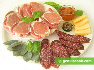 Ingredients for Stuffed Pork Fillet