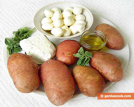 Ingredients for Stuffed Potatoes