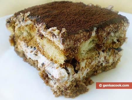 Tiramisu Cake Piece