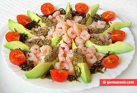 Avocado and Shrimp Appetizer