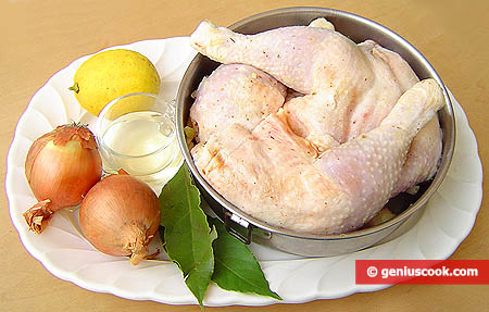 Ingredients for Grilled Chicken Legs
