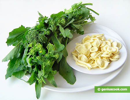 Ingredients for Maritate Pasta with Sauteed Broccoli Rabe