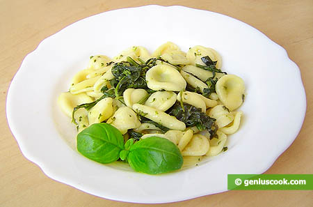 Maritate Pasta with Sauteed Broccoli Rabe